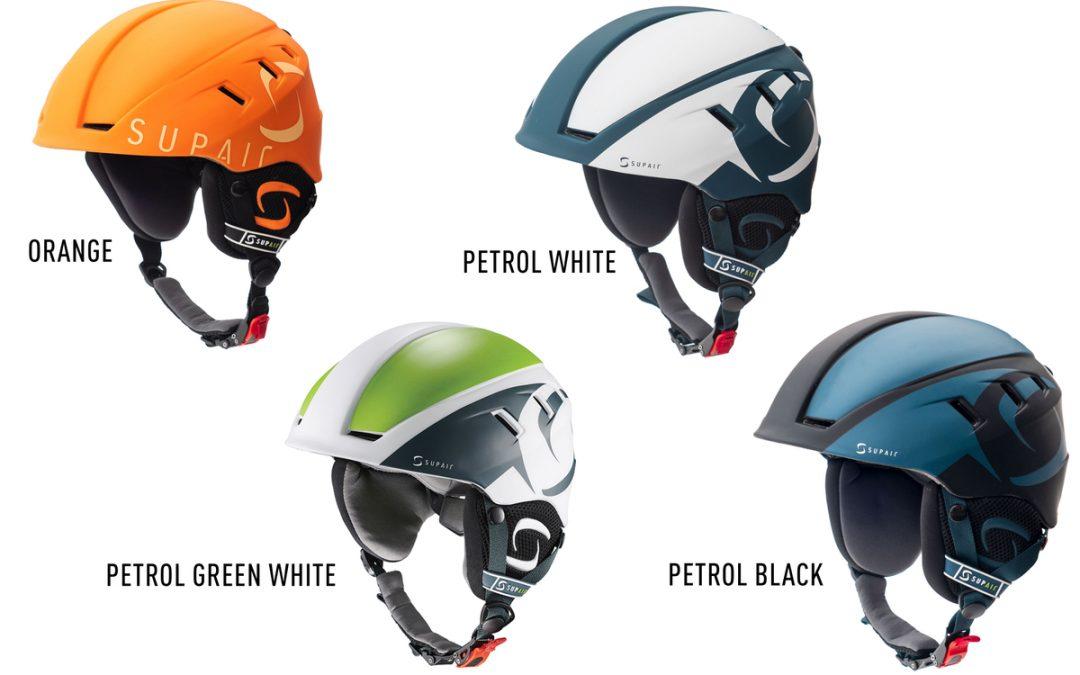 Das neue Helmdesign von Supair